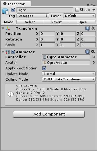 Animator Override Controllers