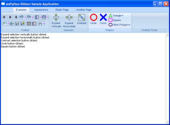 wx lib agw ribbon toolbar RibbonToolBar — wxPython Phoenix